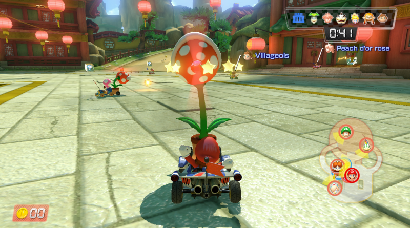 Test : Mario Kart 8 Deluxe (Switch)