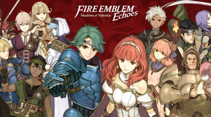 Test : Fire Emblem Echoes – Shadows of Valentia