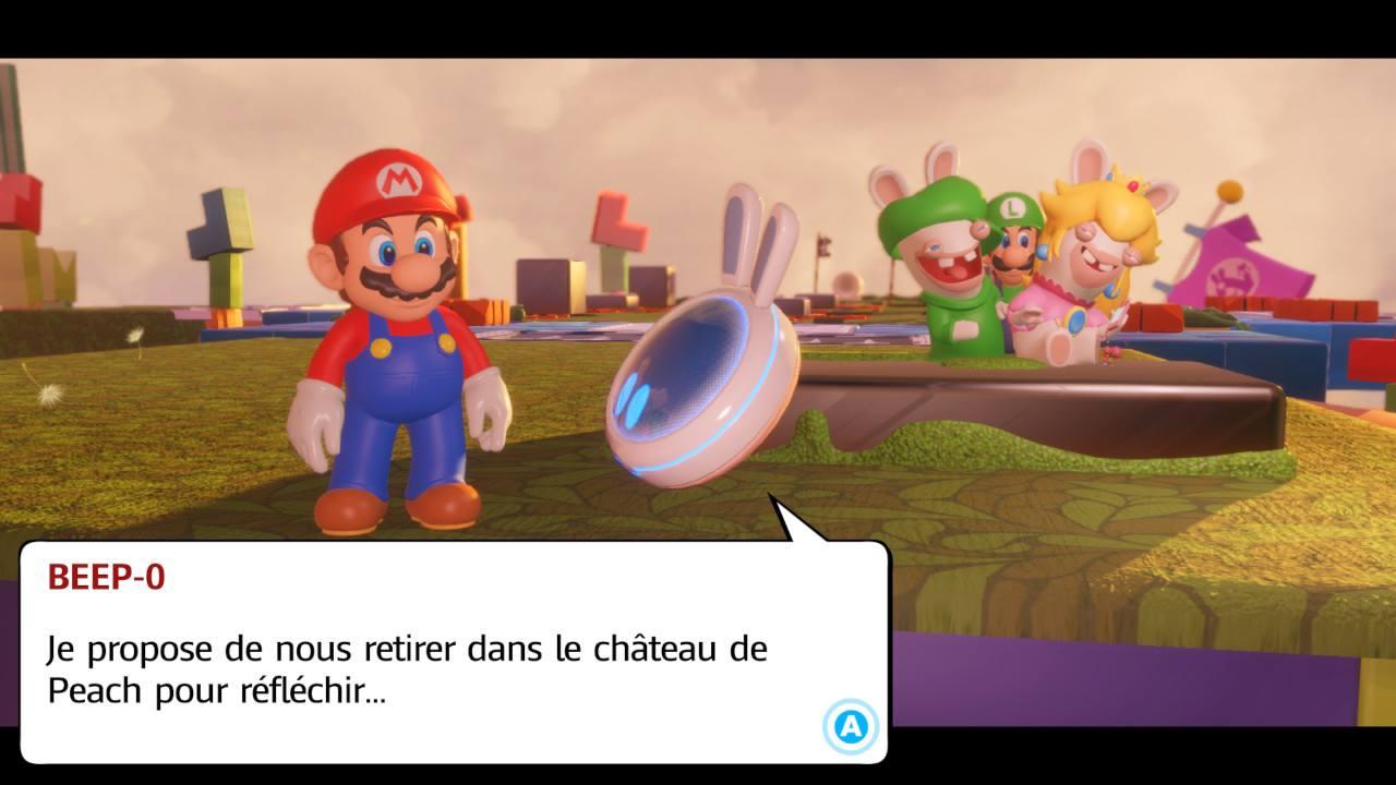 Test Mario Les Lapins Crétins Kingdom Battle Switch