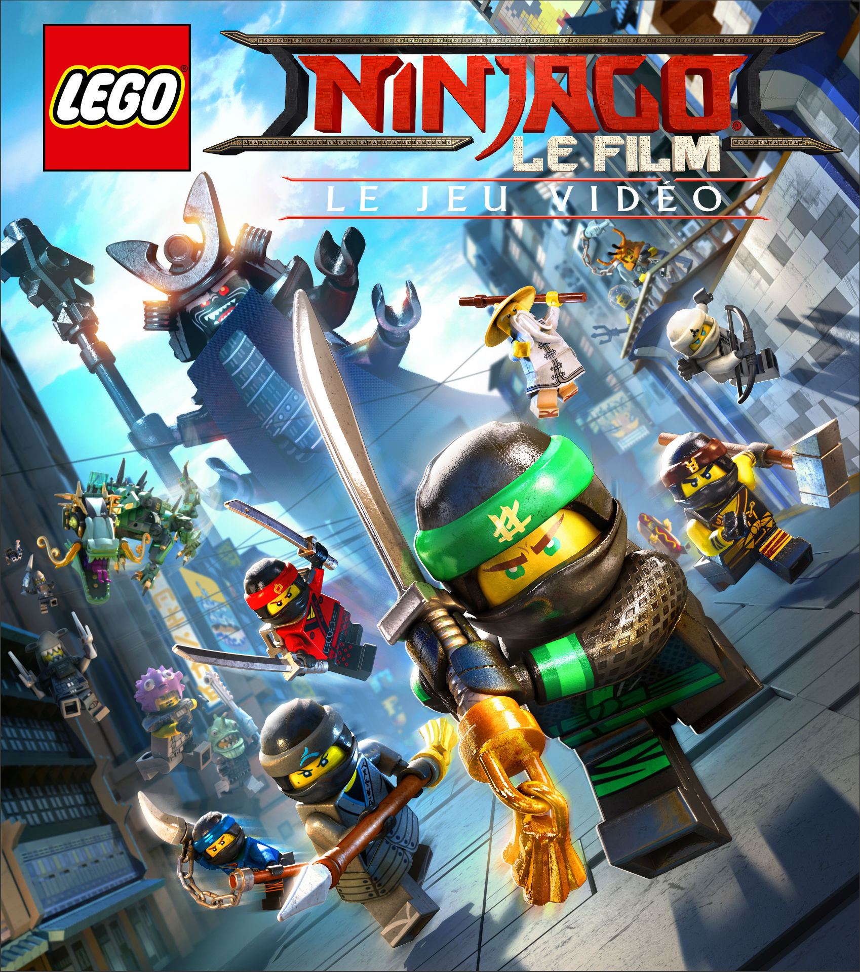 test lego ninjago le film le jeu vid o ps4. Black Bedroom Furniture Sets. Home Design Ideas
