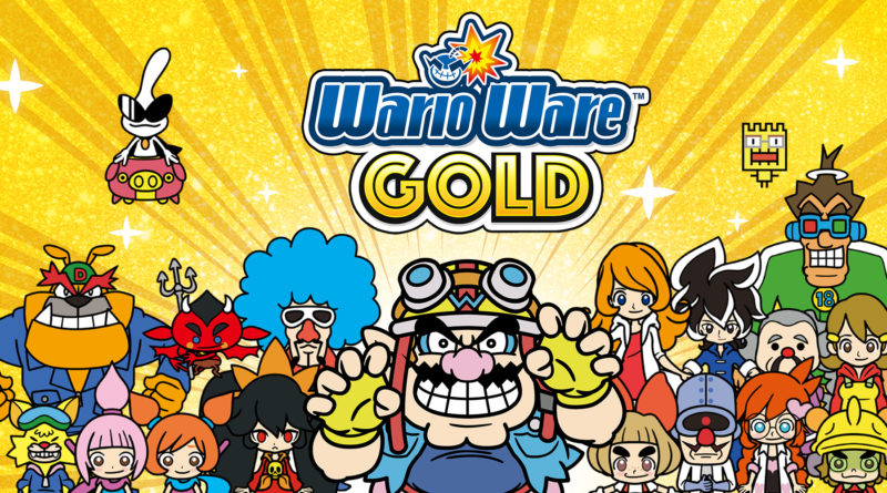 Test : Wario Ware Gold (3DS)