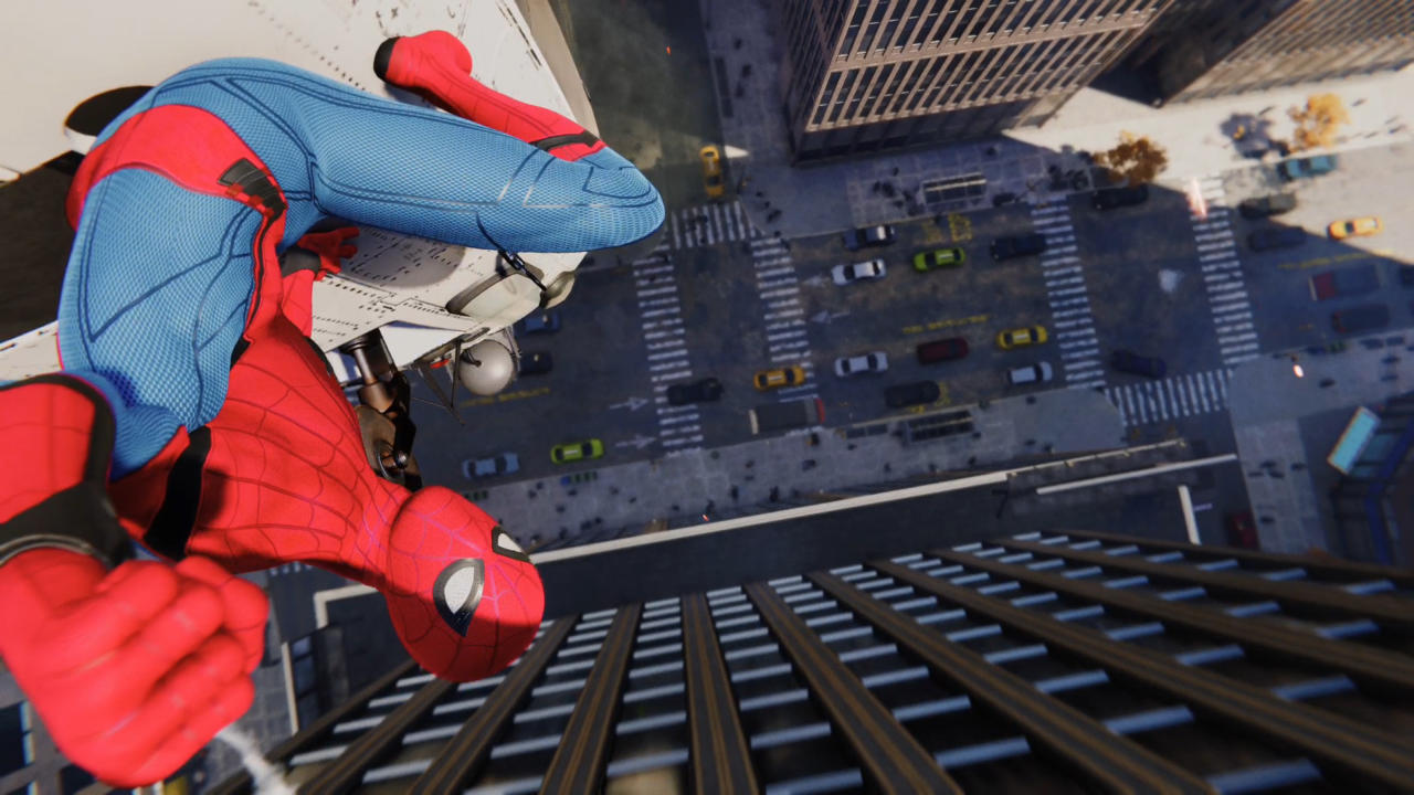 Test Spider Man Ps4