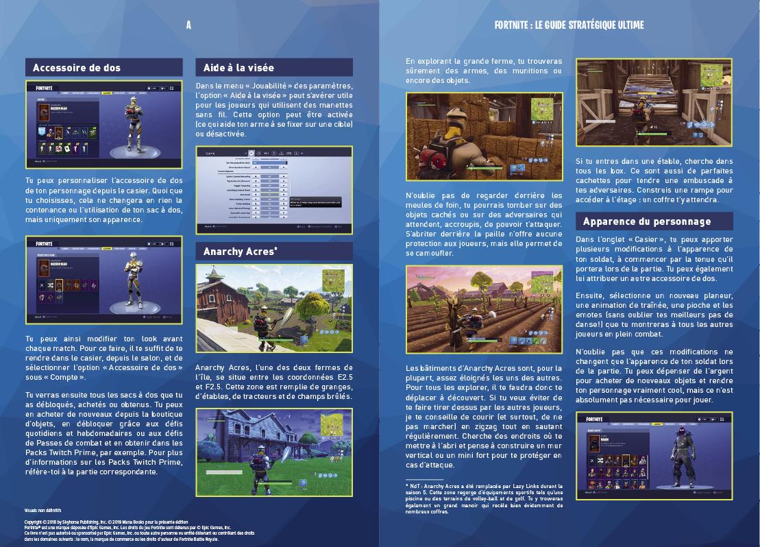 Livre Fortnite Battle Royale Le Guide Strategique Ultime
