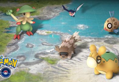 Pokémon GO : événement Hoenn et Barpau shiny