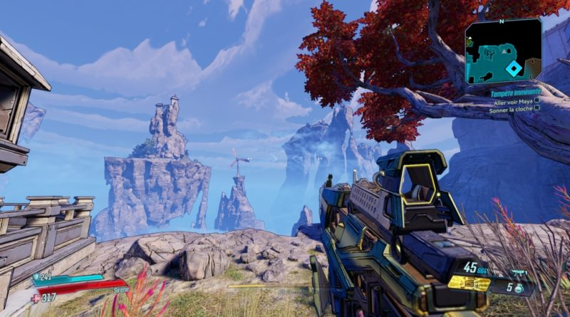 Test : Borderlands 3 (Xbox One)