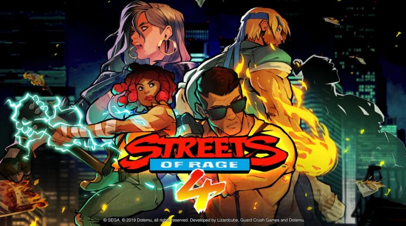 Test : Streets of Rage 4 (Switch)
