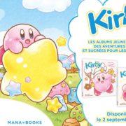 Livres pour enfants Kirby (Mana Books)
